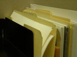 Spousta papírové agendy