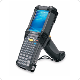 Mobilní čtečka čárových kódů